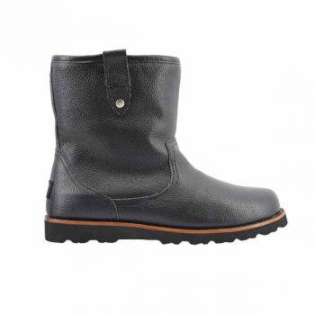Мужские ботинки Ugg Mens Stoneman Black Leather