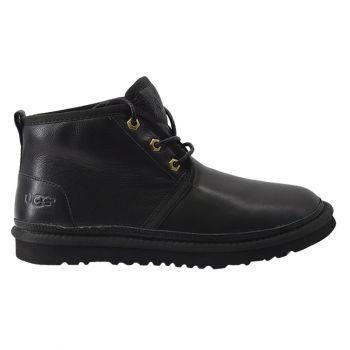 Мужские ботинки Ugg Mens Neumel Black Leather