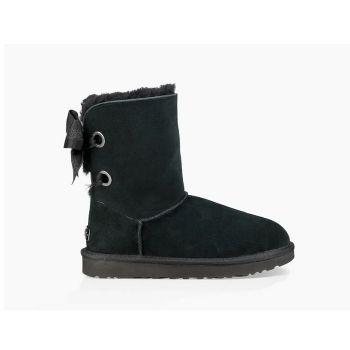 Женские угги Ugg Customizable Bailey Bow Short Boot Black